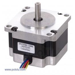 Stepper Motor: Unipolar/Bipolar, 200 Steps/Rev, 57×41mm, 5.7V, 1 A/Phase