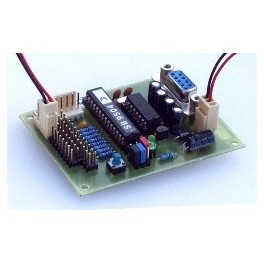 Servoanim - modul k ovládání 8 serv