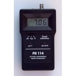 PH114 pH metr s automatickou teplotní kompenzací
