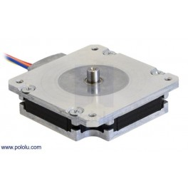 Sanyo Pancake Stepper Motor: Bipolar, 200 Steps/Rev, 50×11mm, 4.5V, 1 A/Phase