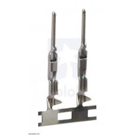 Kontakty pro černé lisovací konektory KONPC kolík, 20 kusů