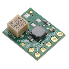 5V Step-Up/Step-Down Voltage Regulator w/ Adjustable Low-Voltage Cutoff S9V11F5S6CMA