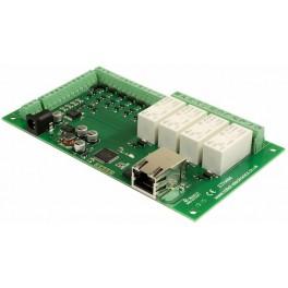 ETH484 - 4x relé 16A ovládané po ethernetu + I/O