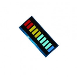 LED bargraf vícebarevný