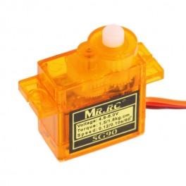 SG90 micro servo 9g oranžové