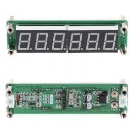 Měřič frekvence 0.1-65MHz 6x LED červený
