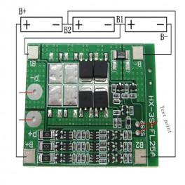 Ochranný modul Li-ion 3S 15A a balancer