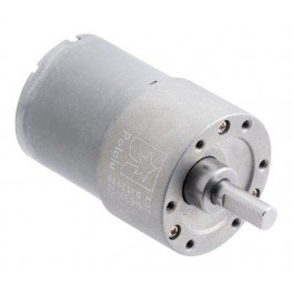 19:1 Metal Gearmotor 37Dx52L mm 12V (Helical Pinion)