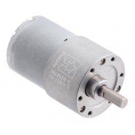 50:1 Metal Gearmotor 37Dx54L mm (Helical Pinion)