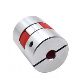 Pružná spojka elastomer D20 L25 5x5mm
