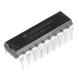 LM3914N budič 10x LED