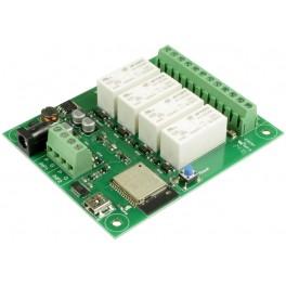 ESP32LR42 - 4x relé 16A ovládané přes WiFi